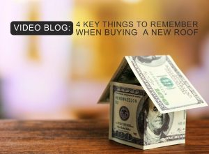 4 Things to remember when buying a new roof