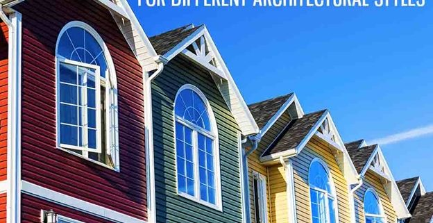 4 Exterior Color Palettes For Different Architectural Styles