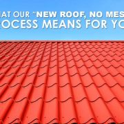 new roof no mess process