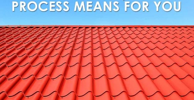 new roof no mess process
