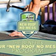benefits of new roof no mess