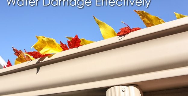 gutter water damage