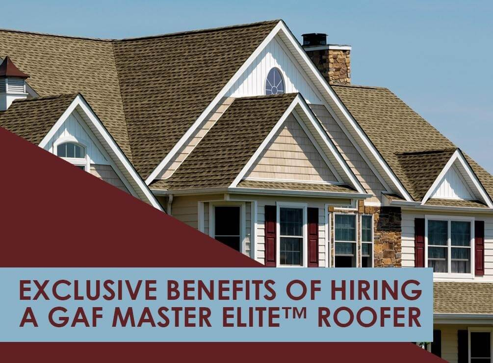 hire a gaf master elite roofer