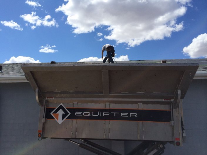 Equipter Roof Cleanup