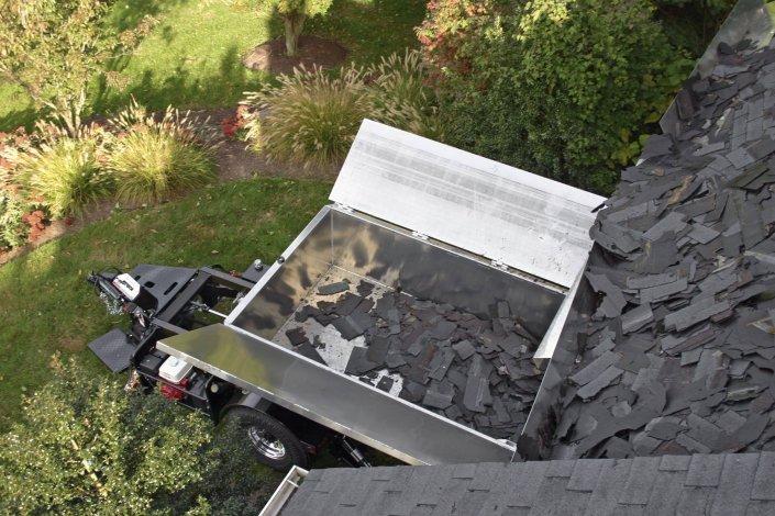 Equipter Roof Debris