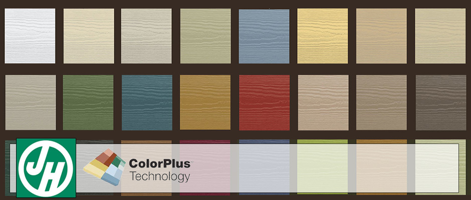 James Hardie Siding Colors