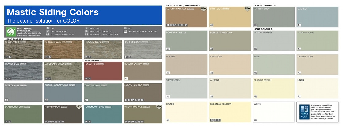 Mastic Vinyl Siding Colors Droughtrelief Org