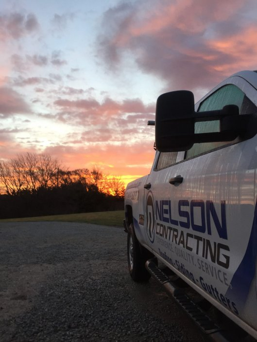 Nelson Contracting Truck