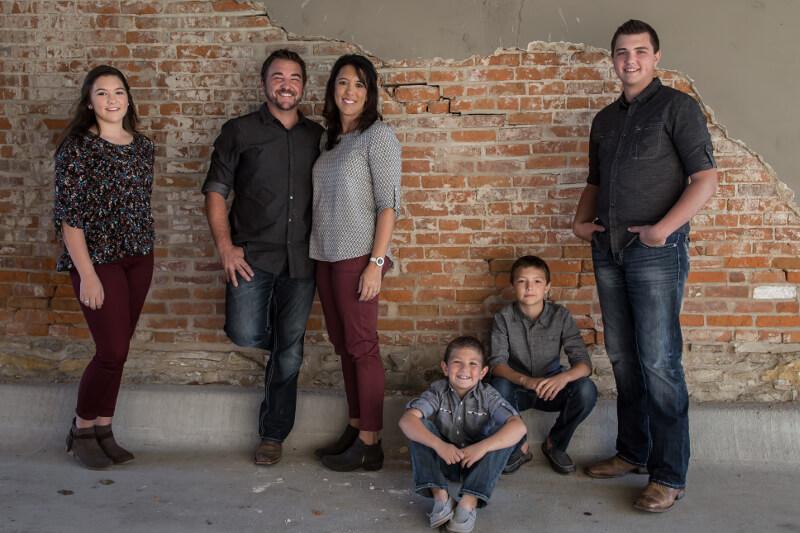 Aaron Nelson Family