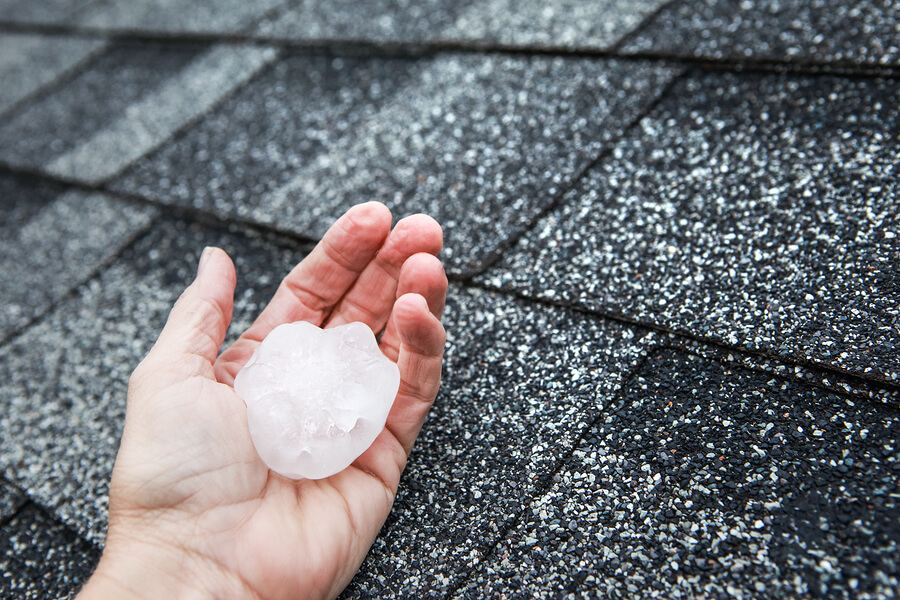 Storm Wind Hail Damage Roof Repair Lincoln Ne Nelson