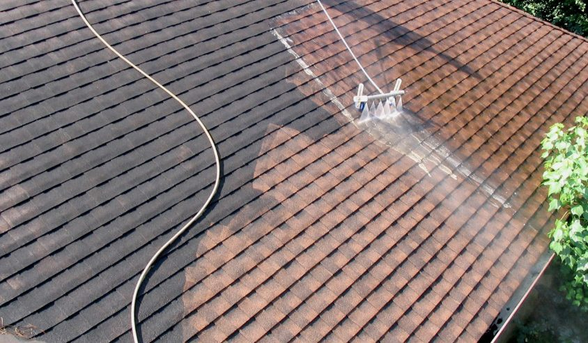 Cleaning A Roof