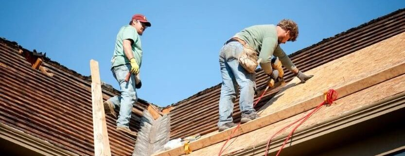 Installing New Roof Tiles