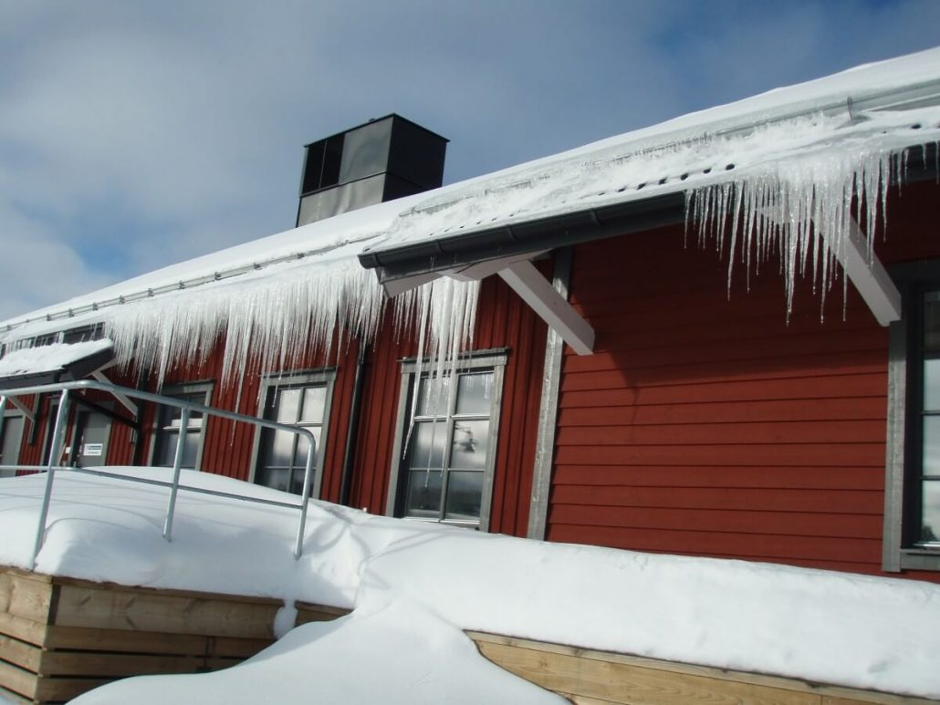 Prevent Ice Dam Roof