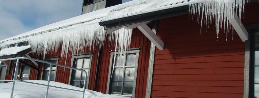 Prevent Ice Dam Roof