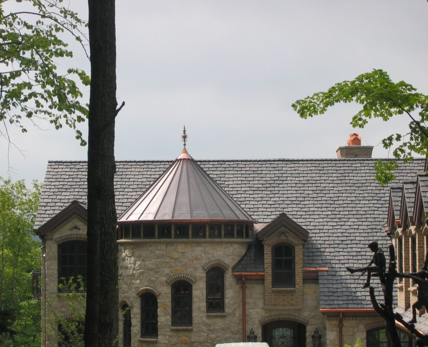 Fireproof roof