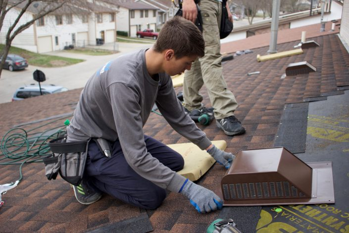 Installing Roof Vent